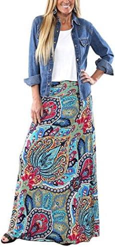 Yinggeli Womens Bohemian Print Skirt product image