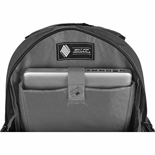 Nitro Rucksack Hero, Schulrucksack, Schoolbag, Daypack, black, 52 x 38 x 23 cm, 37 L Ponderosa