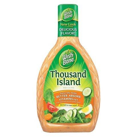 Wish-Bone Salad Dressing, Thousand Island, 16 oz