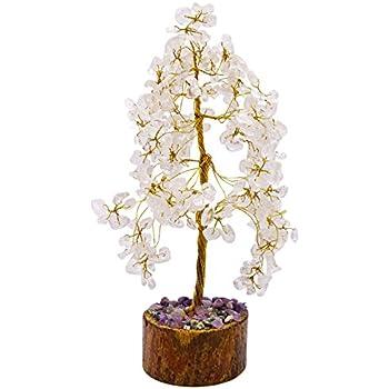 Harmonize Cyrstal Clear Quartz Reiki Healing Stones Tree Spiritual Feng Shui Table Décor