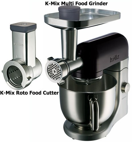 220-240 Volt/ 50-60 Hz, Kenwood KMX64 Stand Mixer with Attachment Roto Food Cutter and Meat Grinder, OVERSEAS USE ONLY, WILL NOT WORK IN THE US (Kenwood Food Grinder compare prices)