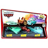 Mattel Disney / Pixar CARS Movie 1:55 Die Cast Story Tellers Collection 3-Pack Wedding Day Ramone, Tractor and Brand New Teal Mater by Mattel