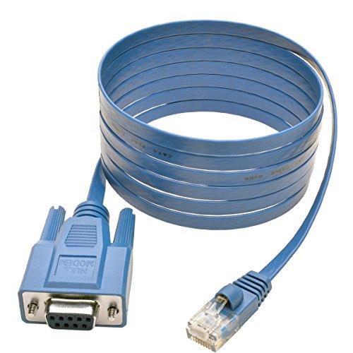 TRIPP LITE RJ45 to DB9F Cisco Serial Console Port Rollover Cable (P430-006)