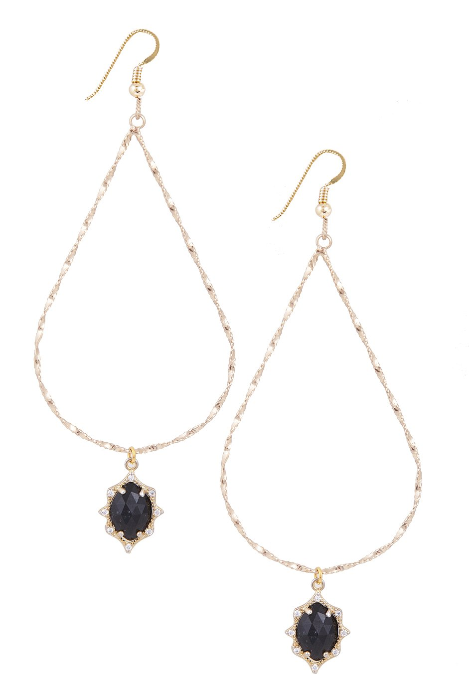 Lucky Star Jewels Women's Gold Zaire Earrings by Lucky Star Jewels