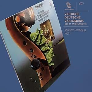 Virtuoso German Music Xvii Century for Violin