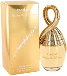 Bebe Wishes and Dreams Eau de Parfum Spray for Women, 3.4 Ounce