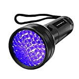 UV Flashlight Black Light UV Lights, Vansky 51 LED Ultraviolet Blacklight Pet Urine Detector For Dog Cat Urine,Dry Stains,Bed Bug, Matching with Pet Odor Eliminator