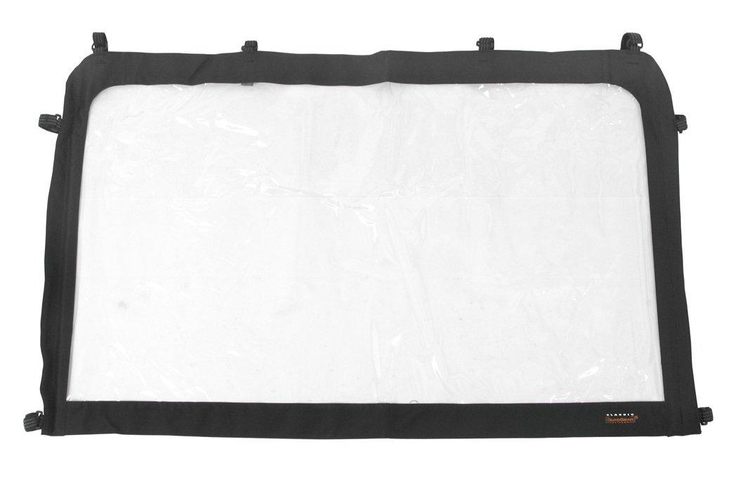 Classic Accessories QuadGear UTV Windshield (Black, Medium, Fits Kawasaki 2500/3000 Polaris Ranger)