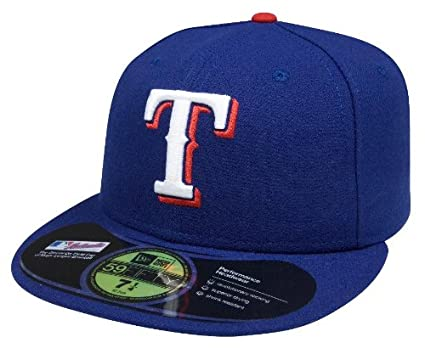 sale retailer 5b19e 010e2 MLB Texas Rangers Authentic On Field Game 59FIFTY Cap, Royal, 7