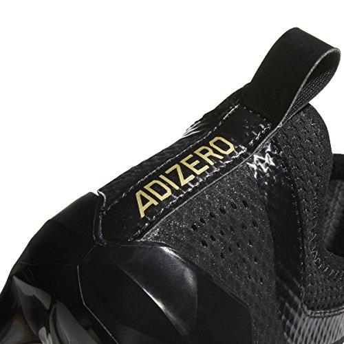 Image of adidas Men's Adizero 5-Star 7.0 Football Cleats (9.5, Black/Gold Metallic/Gold Metallic)