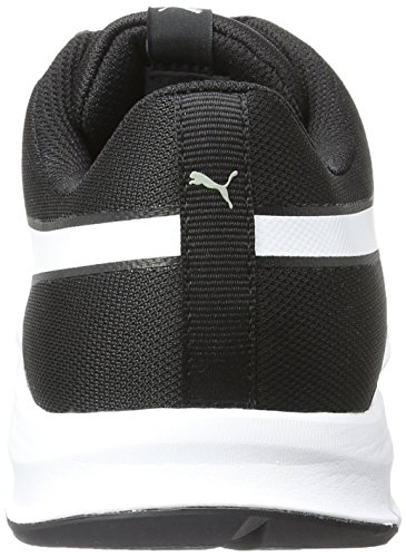 Puma Flexracer, Unisex Adults' Trainers Black (Black/White 01)