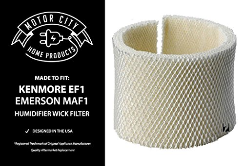 Kenmore EF1 and Emerson MAF1 Compatible Humidifier Wick Filter Motor City Home Products Brand Replacement (1)