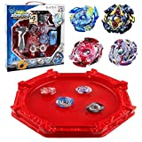 KAVCENT Bey Battle Burst Turbo Evolution Star Storm Battle Set Arena Included with 4D Launcher Grip Set Gyro Burst