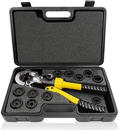 300手動油圧クランプ圧油圧圧着工具のノーズプライヤー銅とアルミ電線圧着ペンチ