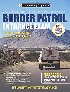 customs border protection officer passbooks career examination rh amazon com border patrol supervisor test study guide pdf Border Patrol Arrest