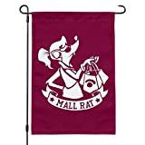 Graphics and More Mall Rat with Shopping Bags Garden Yard Flag with Pole Stand Holder
