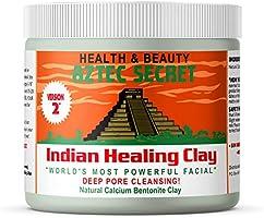 Aztec Secret – Indian Healing Clay 1 lb – Deep Pore Cleansing Facial & Body Mask – The Original 100% Natural Calcium...