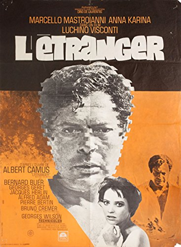 The Stranger 1968 French Moyenne Poster