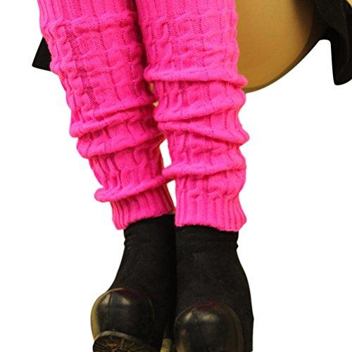 Knit Leg Warmers Socks,Hemlock Womens Girl's Keep Warm Leg Stocking Boot Covers (Hot (Hot Girls Boots)