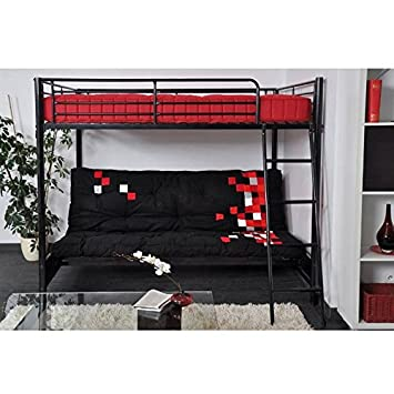 Superb Hugo Bunk Bed With Sofa Bed At Bottom 140 X 190 Cm Mattress Gmtry Best Dining Table And Chair Ideas Images Gmtryco