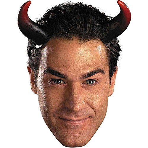 Devil Halloween Costumes Male (Disguise Costumes Oversized Devil Horns, Adult)