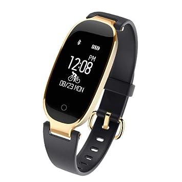 Reloj Inteligente Impermeable IP67 con Pulsómetros Podómetro Monitor de Sueño para IOS Android Phone,Reloj Corriendo Para Hombres, Mujeres y Aventureros: ...