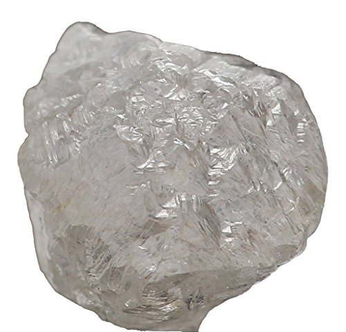 Natural Loose Diamonds Silver Grey Color Uncut Raw Rough 1.00 Carats + Q171