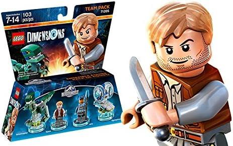 LEGO Dimensions Team Pack Jurassic World レゴ寸法チームパックジュラシックワールドチームパック [並行輸入品]