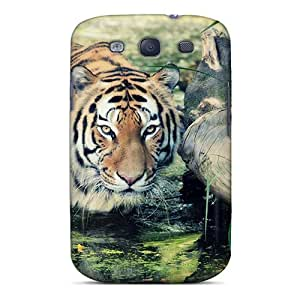 Hot Tpye Wild Tiger Case Cover For Galaxy S3