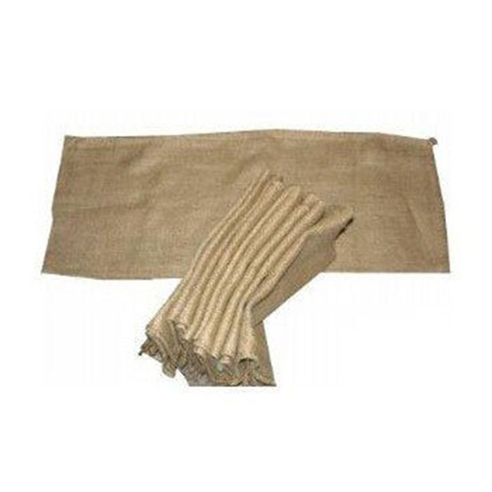 Set Of 5 Hessian Sandbags - Unfilled True Utility