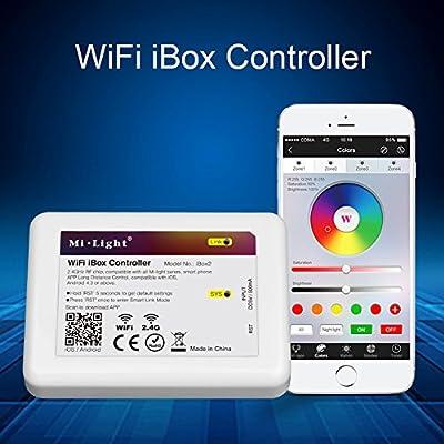 Mi.Light 6W E26 WiFi Led Bulb And RGBW Remote And Wifi iBox2