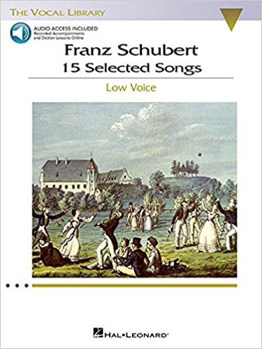 Low Voice Low Voice 15 Selected Songs : The Vocal Library Franz Schubert