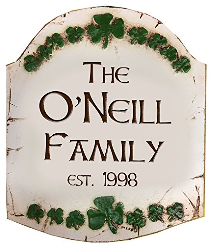 Irish Personalized Family Sign by Artist Al Pisano