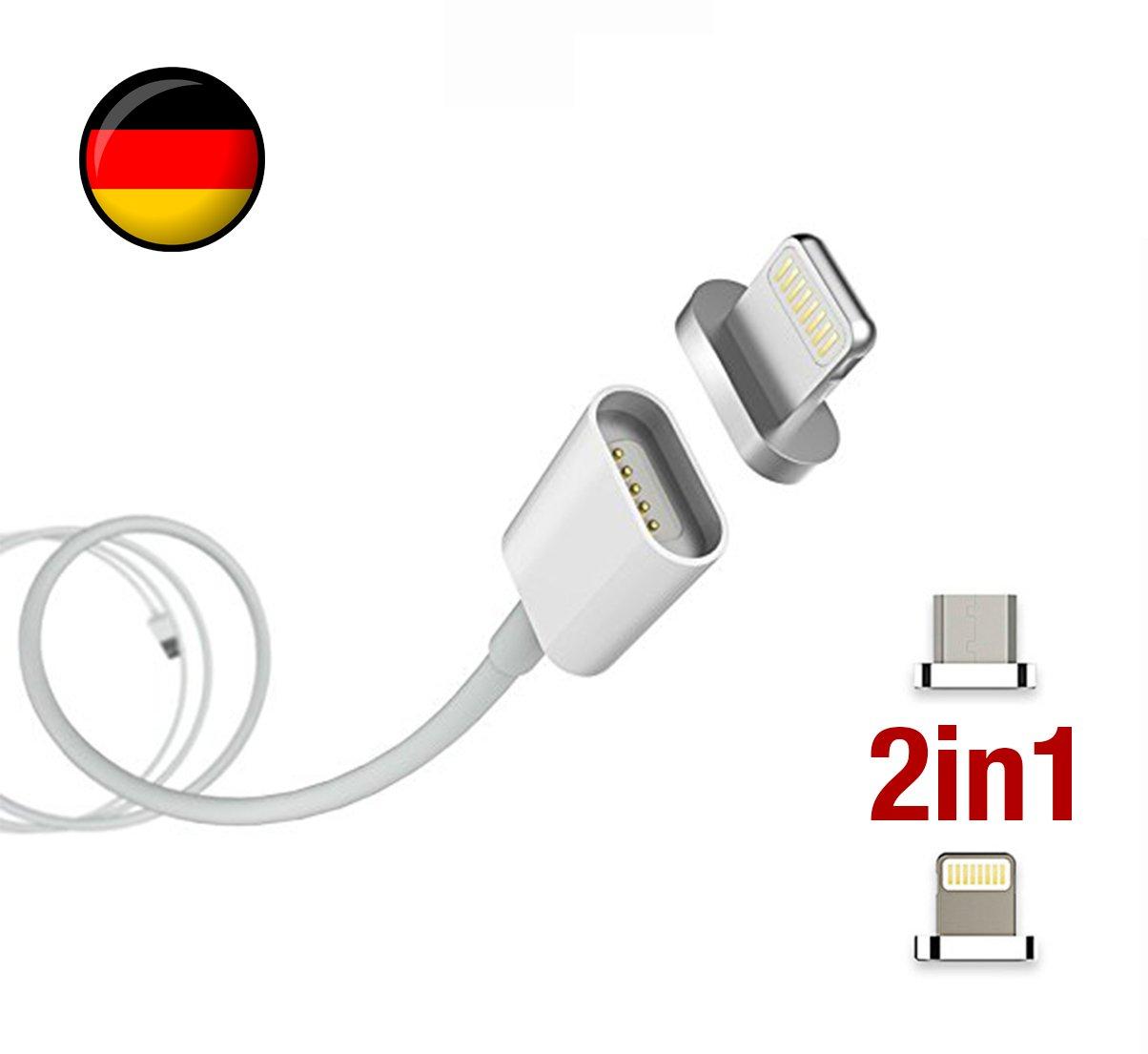 DEUTSCHE MARKE: 2-in-1 Magnetisches USB Ladekabel: Amazon.de: Elektronik