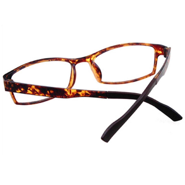 Haodasi Damen Männer Ultraleicht TR90 Rahmen Kurzsichtigkeit Linsen ...