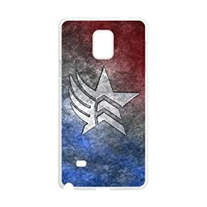 Samsung Galaxy Note 4 Phone Case for Classic theme Mass Effect N7 Logo pattern design GCTMSEFNL794233