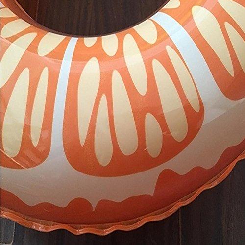 de fruit épais de XG la PVC natation adulte d'orange gonflables gonflable vie anneau bouée OI4Ixq8fHw