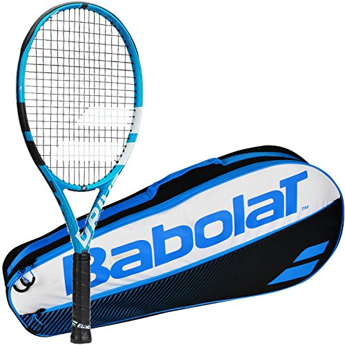 Babolat Pure Drive Junior 26' Junior Blue/White Tennis Racquet (4 Inch...