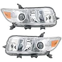 Headlight Headlamp Pair 08 09 10 for Scion xB 2008-10