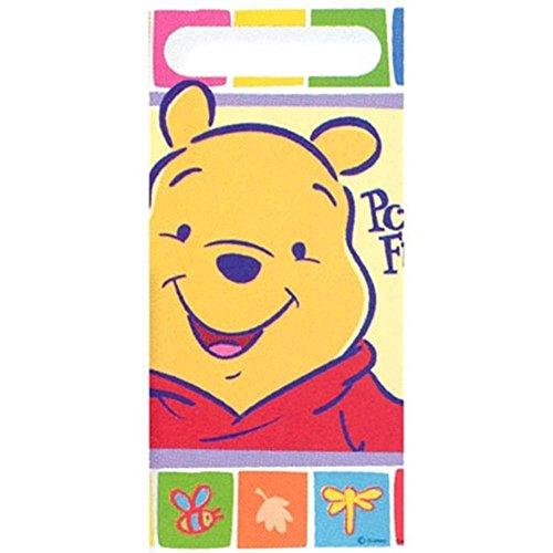 Pooh Fun Folded Treat Bag (Party Folded Treat Sack)