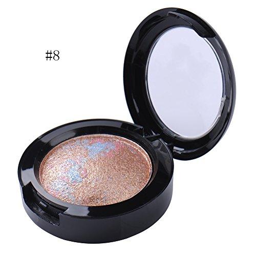 1 Farbe Lidschatten Palette Shimmer metallic Eyeshadow 12 Farben zur Wahl