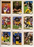 : Pittsburgh Steelers 1991 Upper Deck Football Master Team Set with High Numbers***Premier Issue*** (Bubby Brister) (Rob Woodson) (Merrill Hoge) (Louis Lipps) (Hardy Nickerson)
