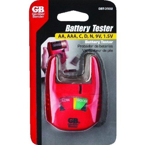 GB Gardner Bender GBT-3502 Dry Cell Battery Tester