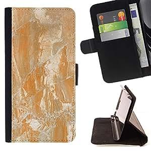 Natural Stone Formation Yellow - Modelo colorido cuero de la carpeta del tirón del caso cubierta piel Holster Funda protecció Para Sony Xperia Z3 Plus / Z3+ / Sony E6553 (Not Z3)
