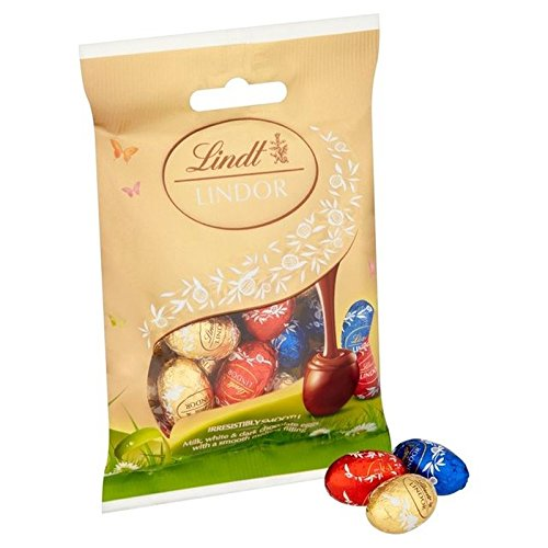 Lindt Lindor Assorted Mini Eggs 100g
