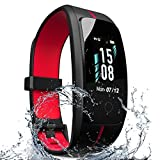 ZyMaSh Fitness Tracker – IP68 Waterproof Fitness Watch - Smart Watch Heart Rate