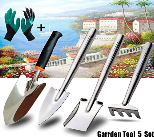 Stainless Steel Garden Tools Set | Mini Tools Gardening Kit Small Garden  Tool Organizer | Hand