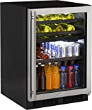 Marvel 24'' Dual Zone Wine and Beverage Center, right hinge