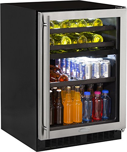 Marvel 24'' Dual Zone Wine and Beverage Center, right hinge by Marvel