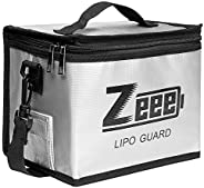 Zeee Lipo Safe Bag Fireproof Explosionproof Bag Large Capacity Lipo Battery Storage Guard Safe Pouch for Charg